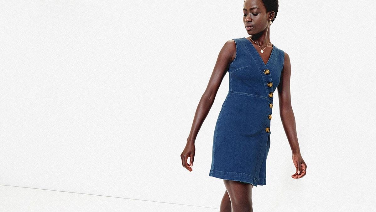 Denim dress from Oasis