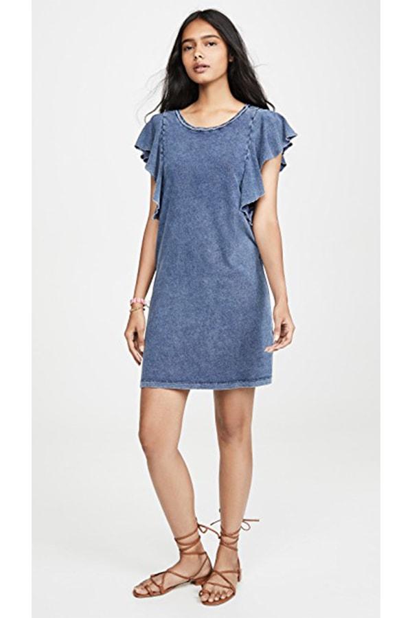 Denim jersey dress from Shopbop