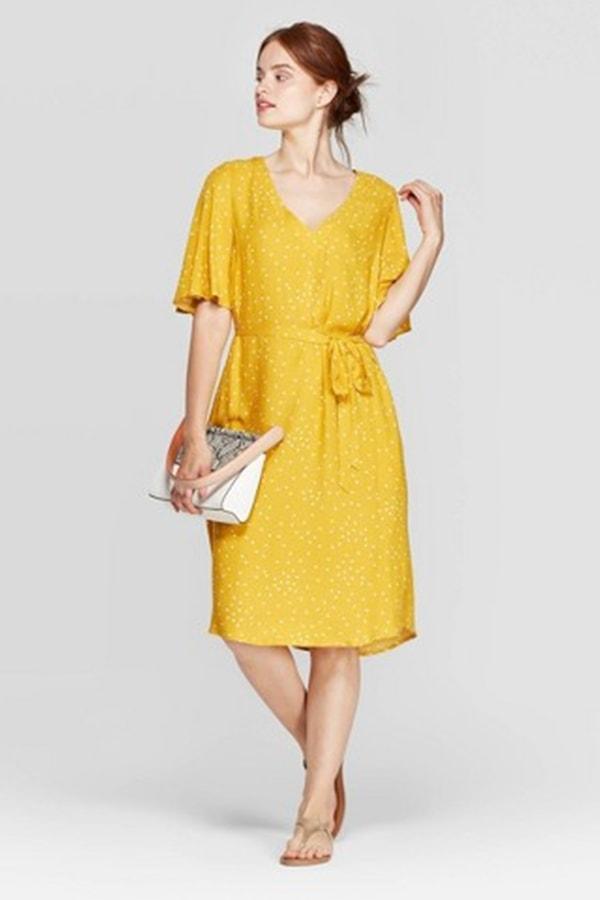 Tie-waist dress from Target