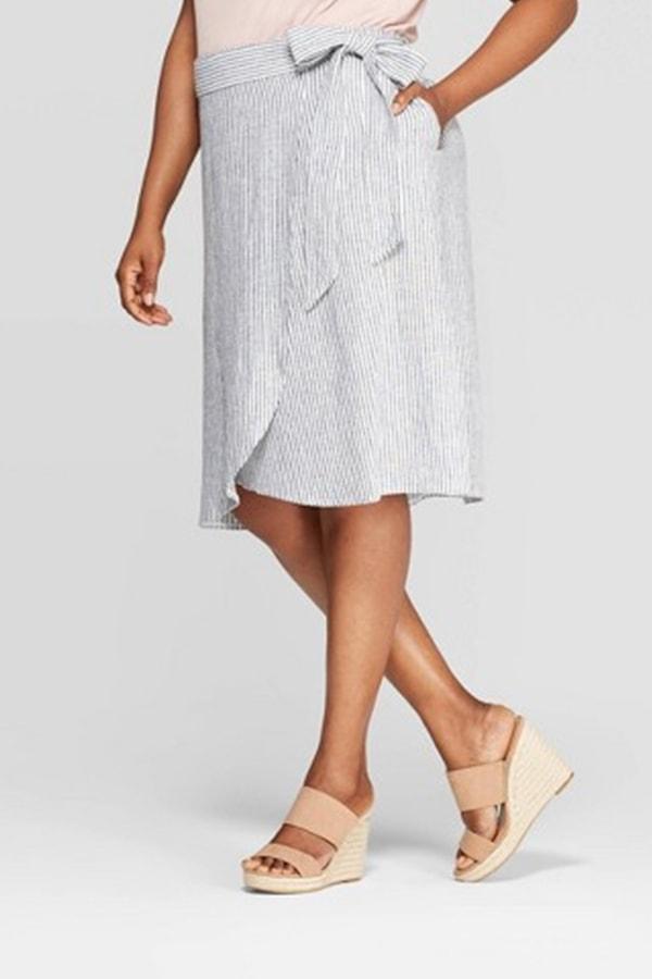 Linen skirt from Target