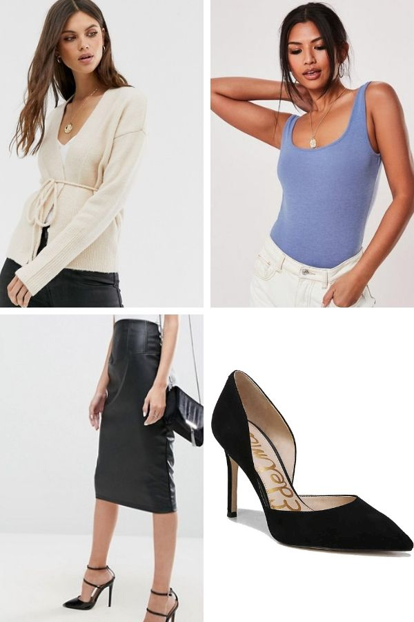Outfit you can wear from work to date night