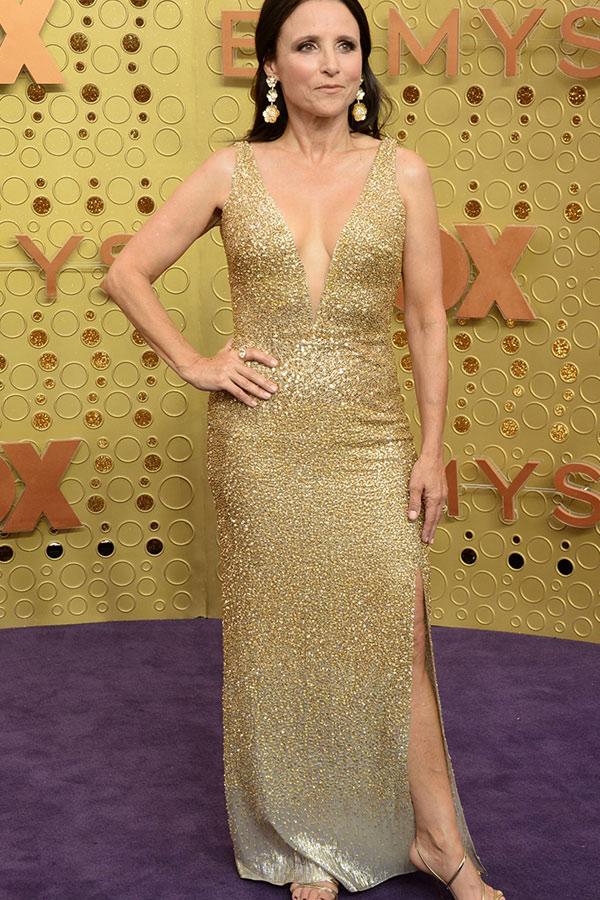 Julia Louis-Dreyfus at the 2019 Emmy Awards