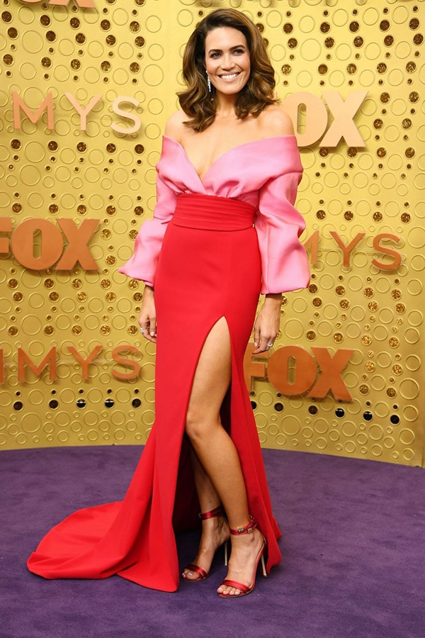 Mandy Moore at the 2019 Emmy Awards