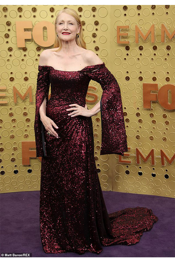 Patricia Clarkson at the 2019 Emmy Awards