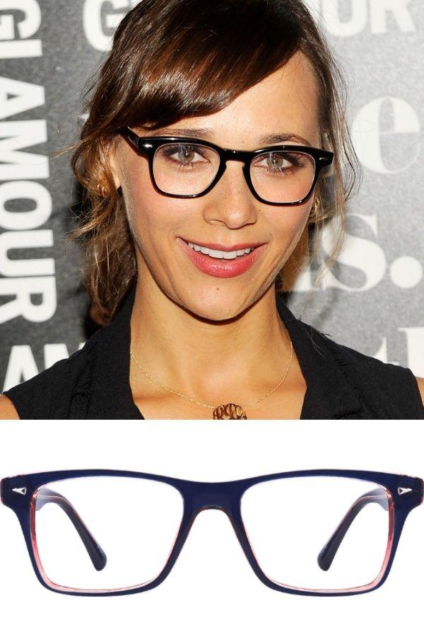 Rashida Jones and eyeglass frames