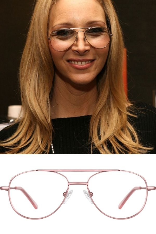 Lisa Kudrow wearing aviator glasses, plus where to get your own dupes on the cheap!  #fakeglasses