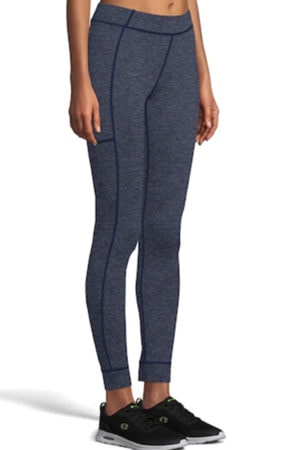 Gray leggings from Kohl's