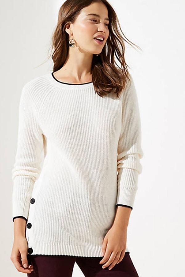 wearing white in fall 1