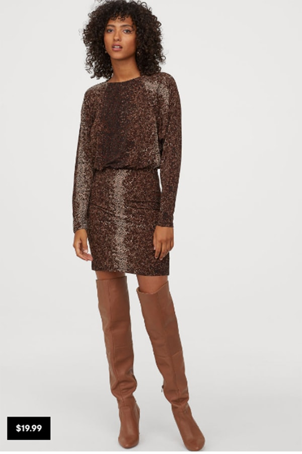 Short dress from H&M Conscious Collection