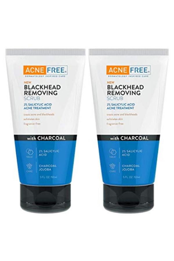 Acne free scrub