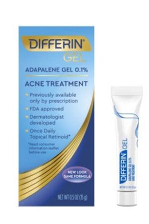 Differin acne treatment