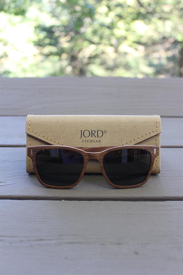 Jord wood frame sunglasses