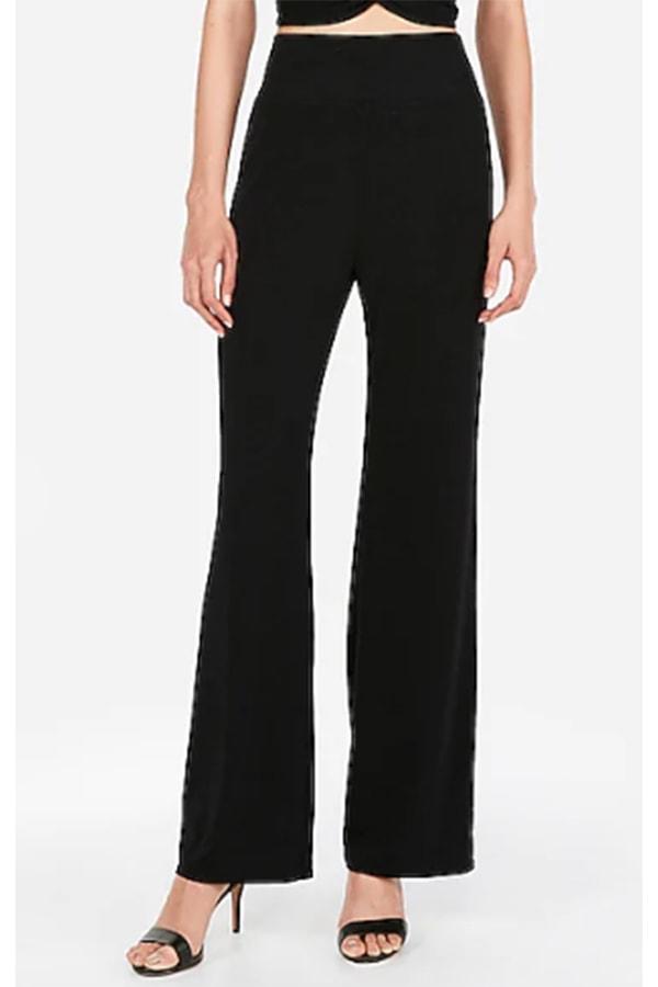 Express high waisted, wide-legged pants