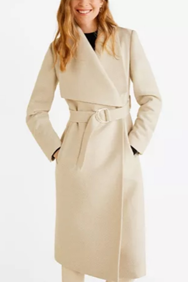MANGO long coat from Macy's