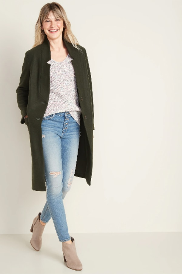 Long coat from Old Navy