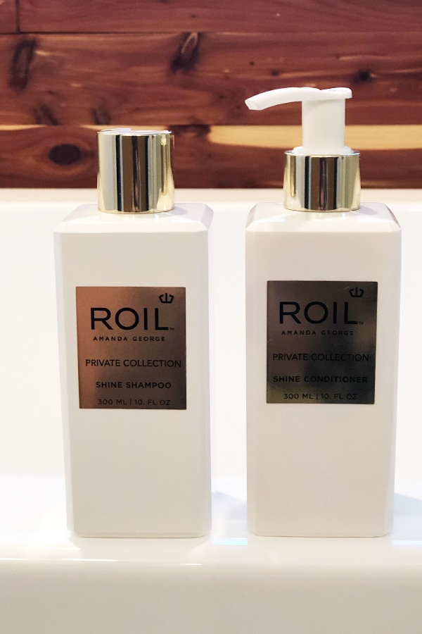 Roil Shampoo and Roil Conditioner
