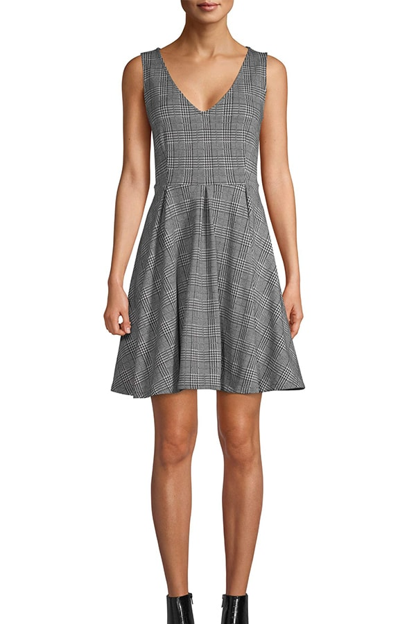 Scoop NYC Fit and flare dress