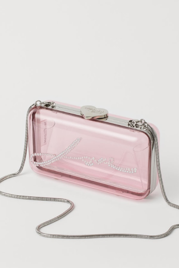 hard clutch bag from H&M collaboration