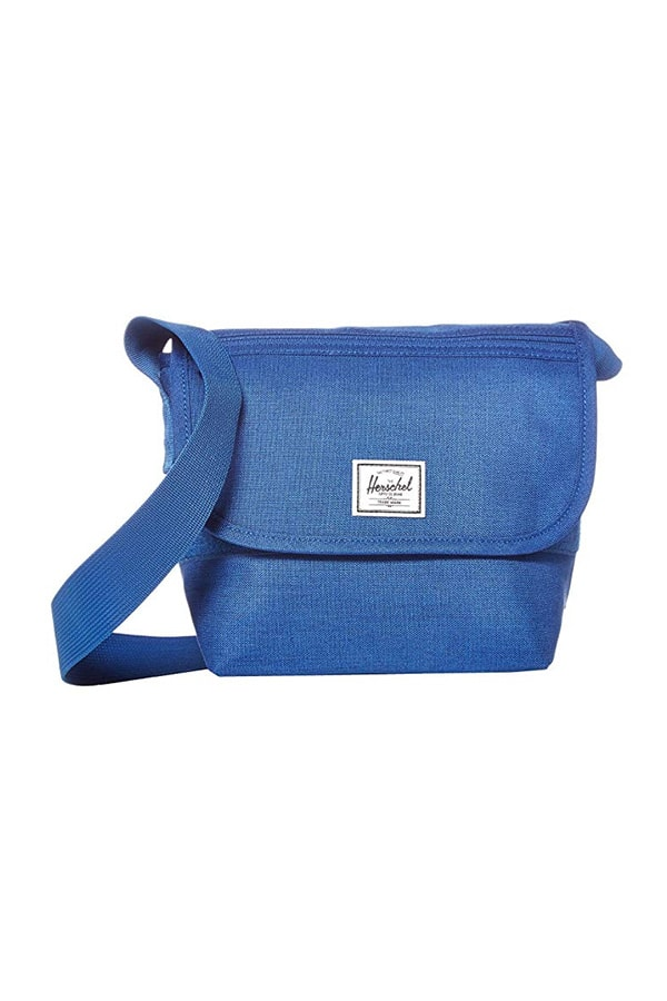 Cross body bag in classic blue