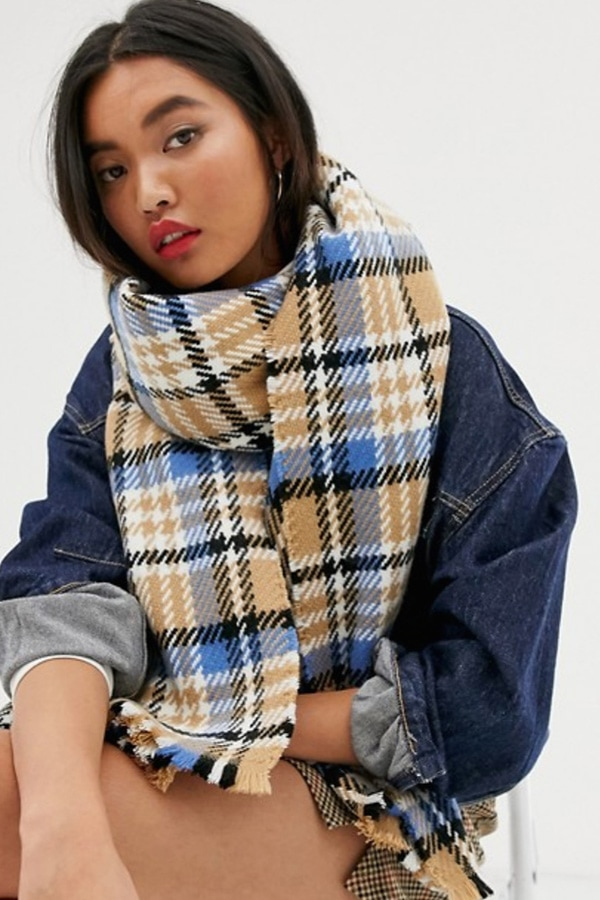 Check scarf from ASOS