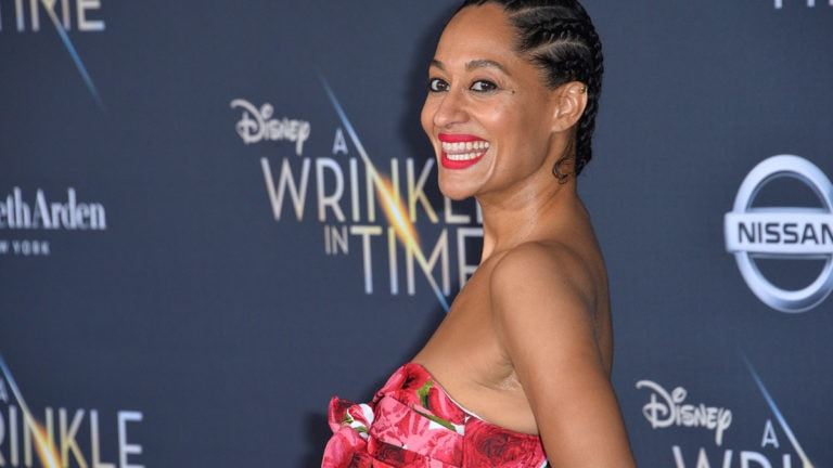 Tracee Ellis Ross on the red carpet
