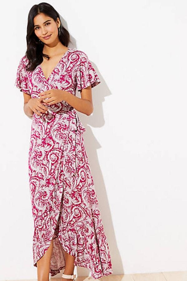 Maxi dress from LOFT
