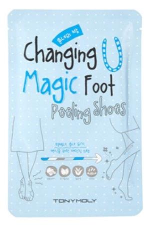 Korean Beauty product Magic Foot Peeling Shoes