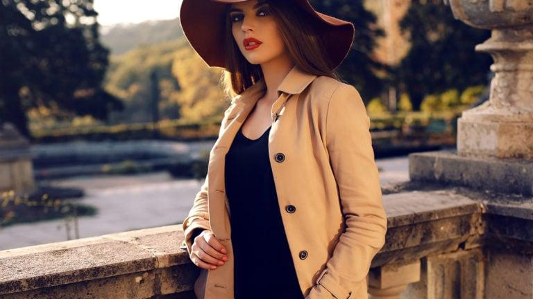 Woman looking fashionable