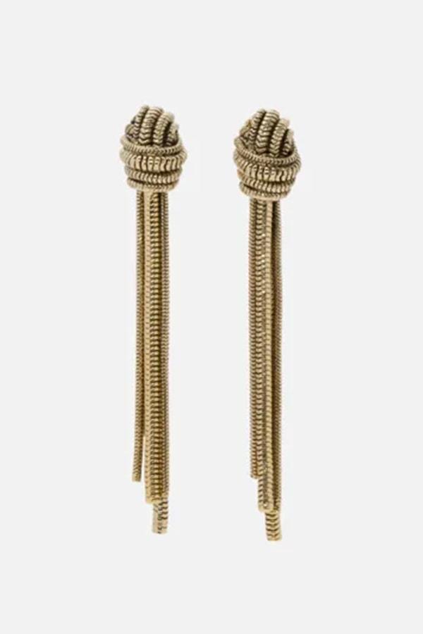 St John Knits earrings