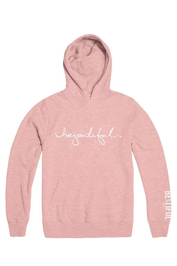 Pink hoodie from beyoutiful