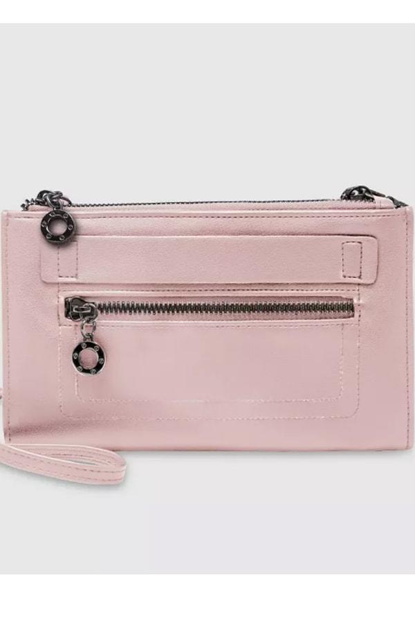 Pink wristlet