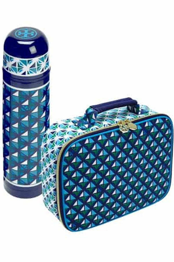 Tory Burch lunchbox and thermos