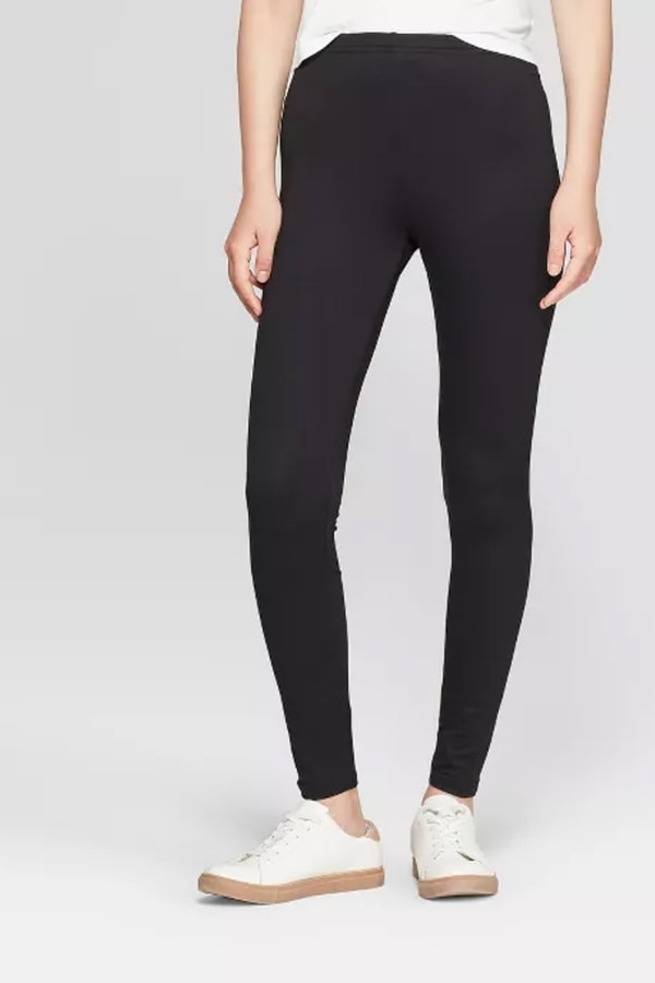 Black leggings for working from home