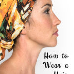 how to wear a hair scarf