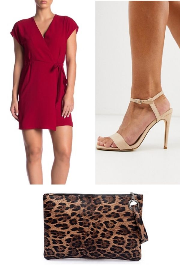 outfit collage for petite women