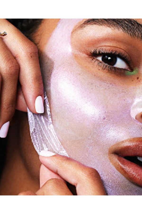 Peel off mask for virtual girls' night in