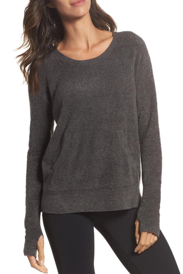 Cozy sweatshirt for a virtual girls' night