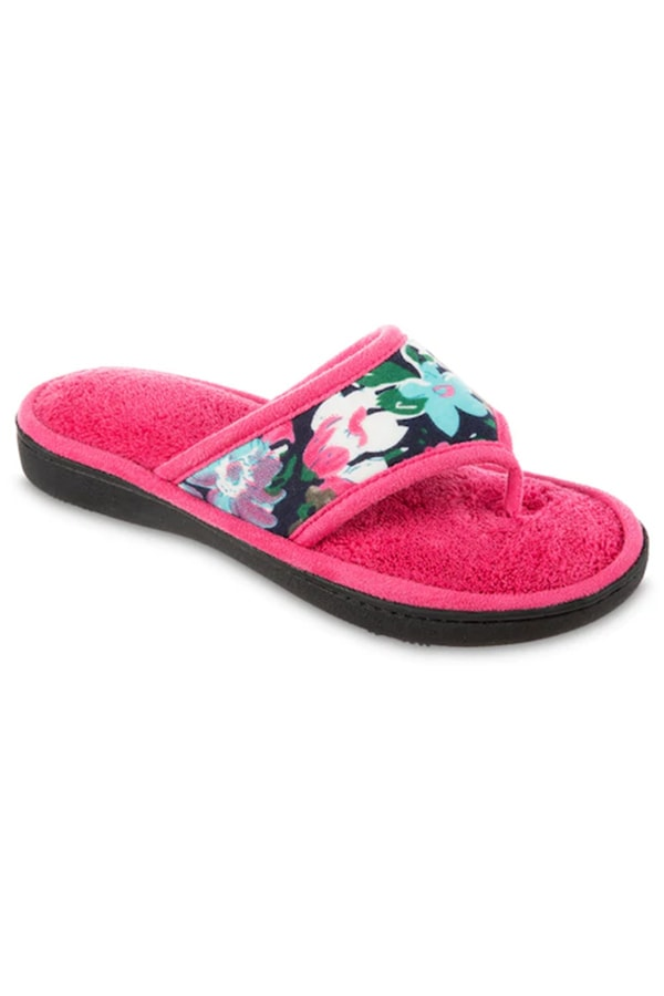 Floral house slippers