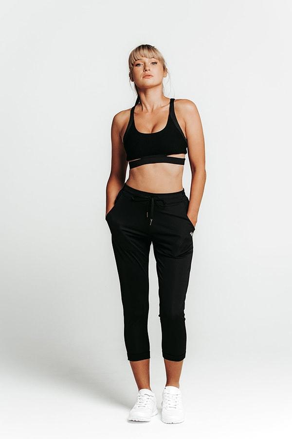Wrapdrive black leggings
