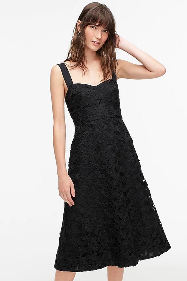 J. Crew little black dress with sweetheart neckline