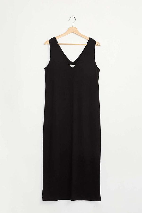 Loungewear black dress
