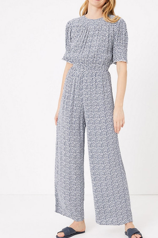 Gray jumpsuit for your loungewear collection