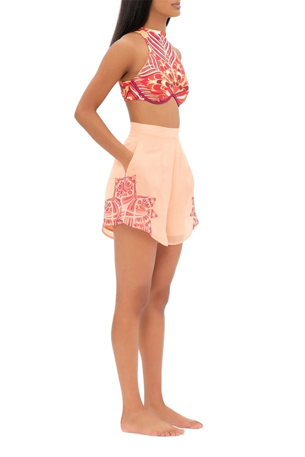 Breezy shorts by Andrea Iyamah
