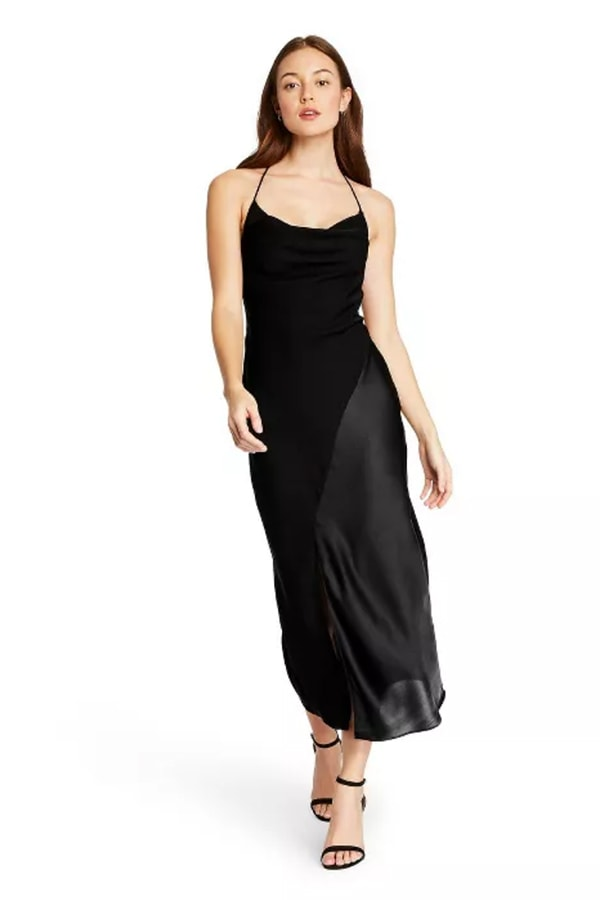 Black slip dress from CUSHNIE at Target