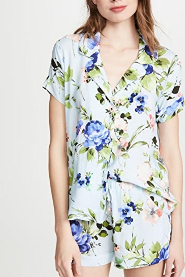 Floral women's loungewear set by Yumi Kim