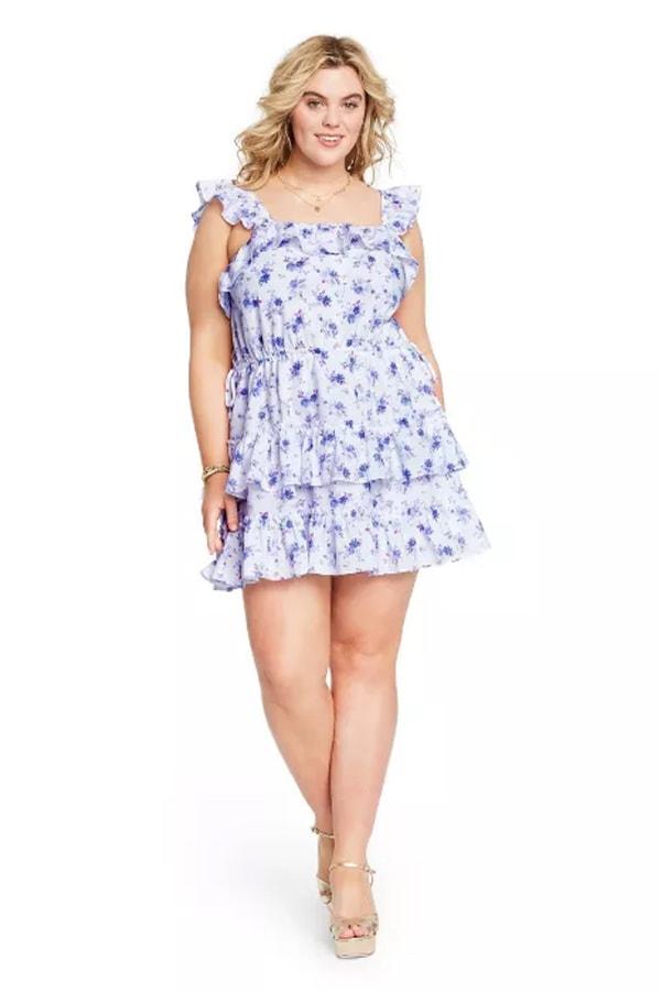 Amalie tiered ruffle dress from LoveShackFancy