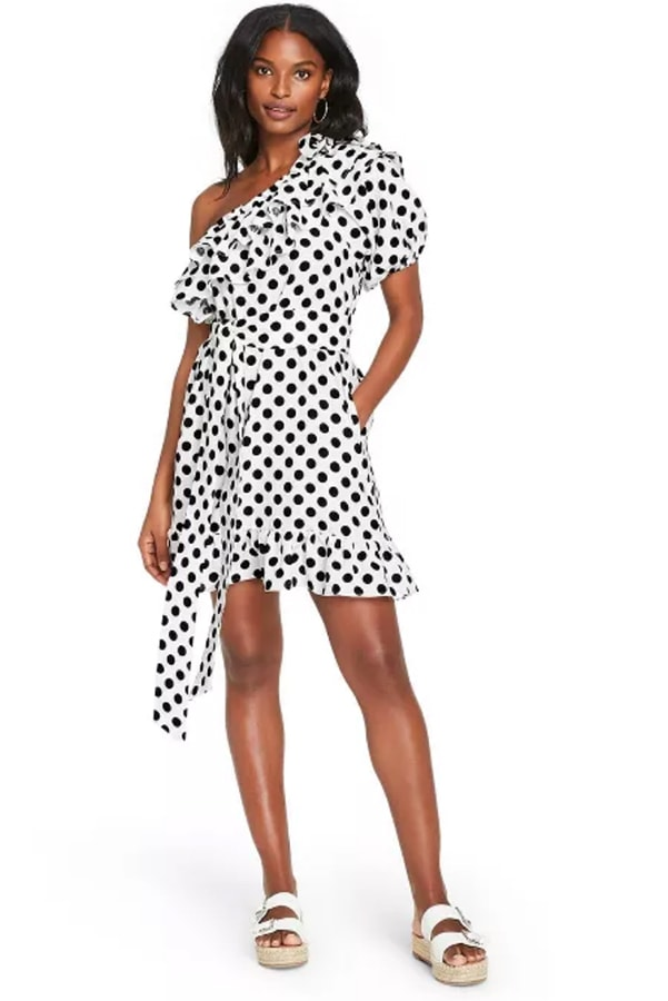 Black and white dress from new Target collection