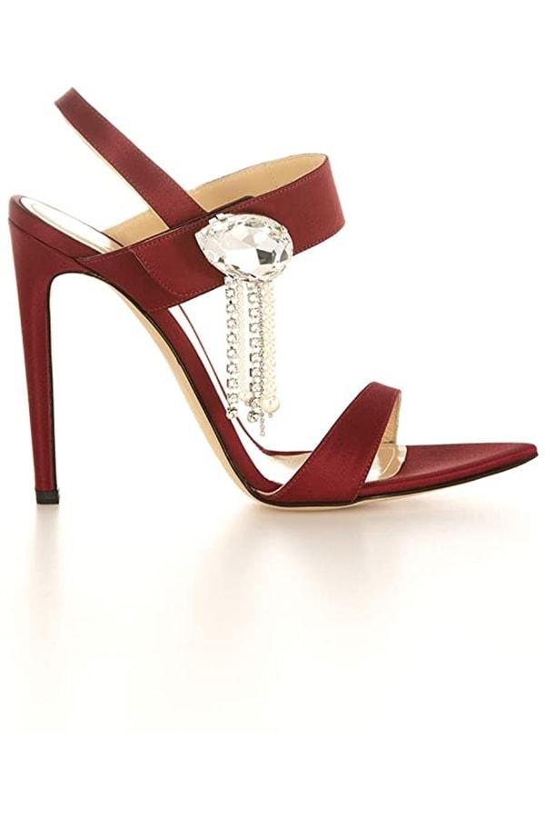 Tori sandal -- red high heel