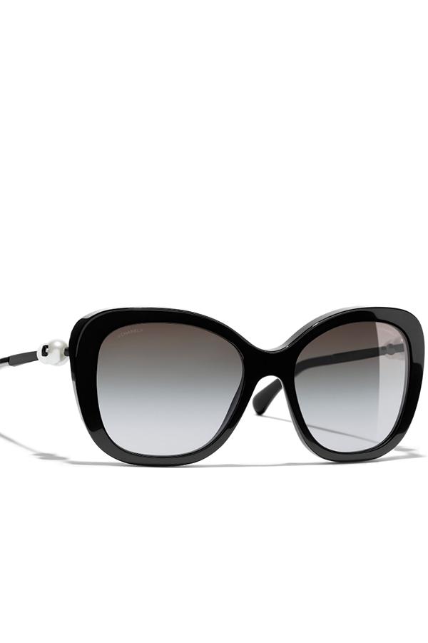 Black classic Chanel sunglasses