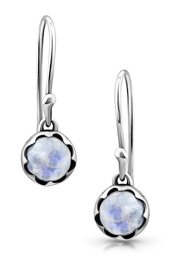 Moonstone drop earrings from Moon Magic